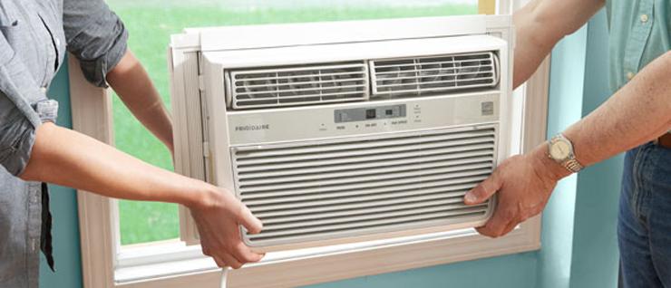Ar condicionado ar janela instalado