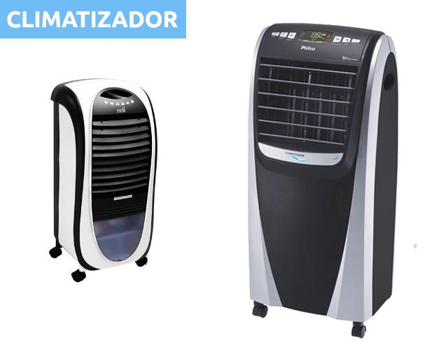 dois climatizador em destaque