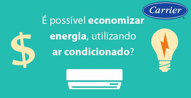 economizar energia com ar condicionado